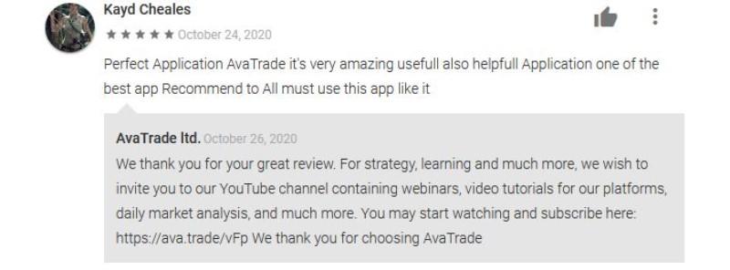 reseña de la app